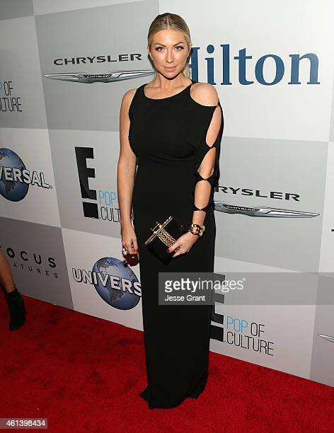 TV personality Stassi Schroeder attends Universal NBC Focus Features and E Entertainment 2015 Golden Globe Awards After Party sponsored by Chrysler...