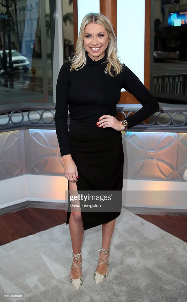 TV personality Stassi Schroeder visits Hollywood Today Live at W Hollywood on January 23, 2017 in Hollywood, California.