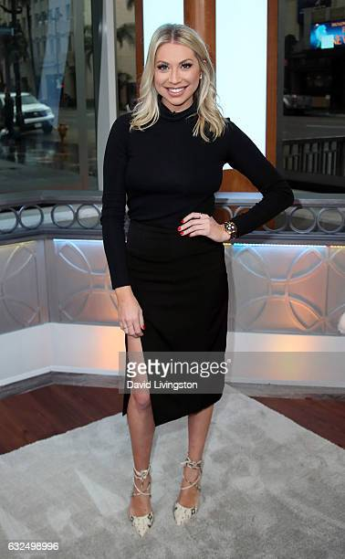 TV personality Stassi Schroeder visits Hollywood Today Live at W Hollywood on January 23 2017 in Hollywood California