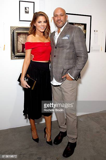 TV personality Stephanie Bauer and De Re Gallery owner Steph Sebbag attend Best Buddies 'The Art of Friendship' Benefit Photo Auction hosted by De Re...