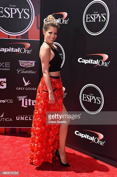 TV personality Stephanie Bauer attends The 2015 ESPYS at Microsoft Theater on July 15 2015 in Los Angeles California