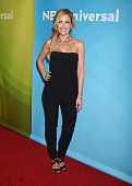 TV personality Stephanie Hollman arrives at the 2016 Summer TCA Tour NBCUniversal Press Tour at the Four Seasons Hotel Westlake Village on April 1...