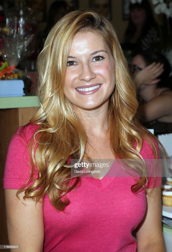 TV personality & Sugar Babies co-owner Rachel Crystal attends the Bellacures Nail Salon celebrity event at the Bellacures Nail Salon on August 26, 2013 in Studio City, California.