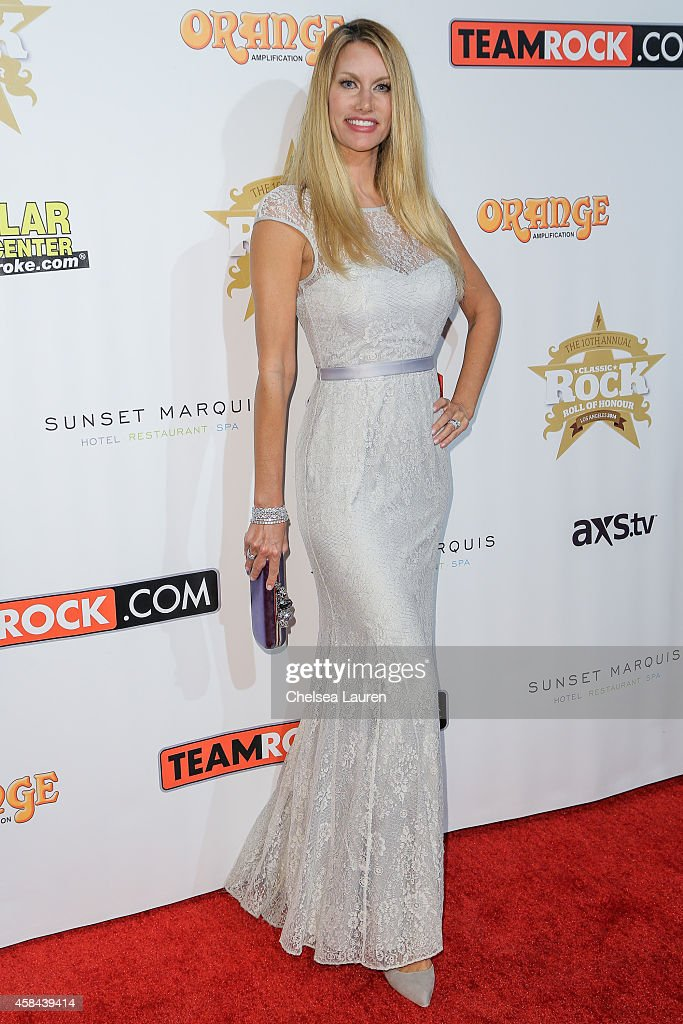 TV personality Susan Holmes McKagan attends the Classic Rock And Roll Honour 2014 Award Ceremony at Avalon on November 4, 2014 in Hollywood, California.