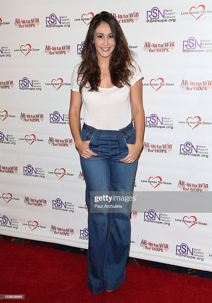 TV Personality Susan Marquez attends 'In To Win For Hope' no limit Texas Hold'em celebrity charity poker tournament at The Commerce Casino on October 6, 2012 in City of Commerce, California.