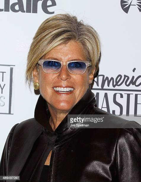TV personality Suze Orman attends the 'American Masters The Women's List' premiere at Hearst Tower on September 21 2015 in New York City