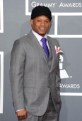 TV personality Sway arrives at the 55th Annual GRAMMY Awards at Staples Center on February 10 2013 in Los Angeles California