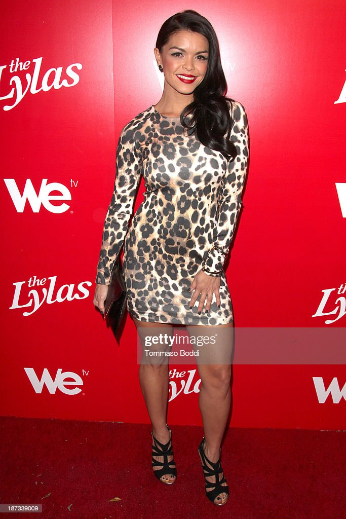 TV personality Tahiti Hernandez attends the WE tv's premiere party for 'The LYLAS' held at the Warwick on November 7, 2013 in Hollywood, California.
