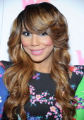 TV personality Tamar Braxton arrives at WE tv's 'Family Affair' 2012 Winter TCA event at Langham Hotel on January 13 2012 in Pasadena California