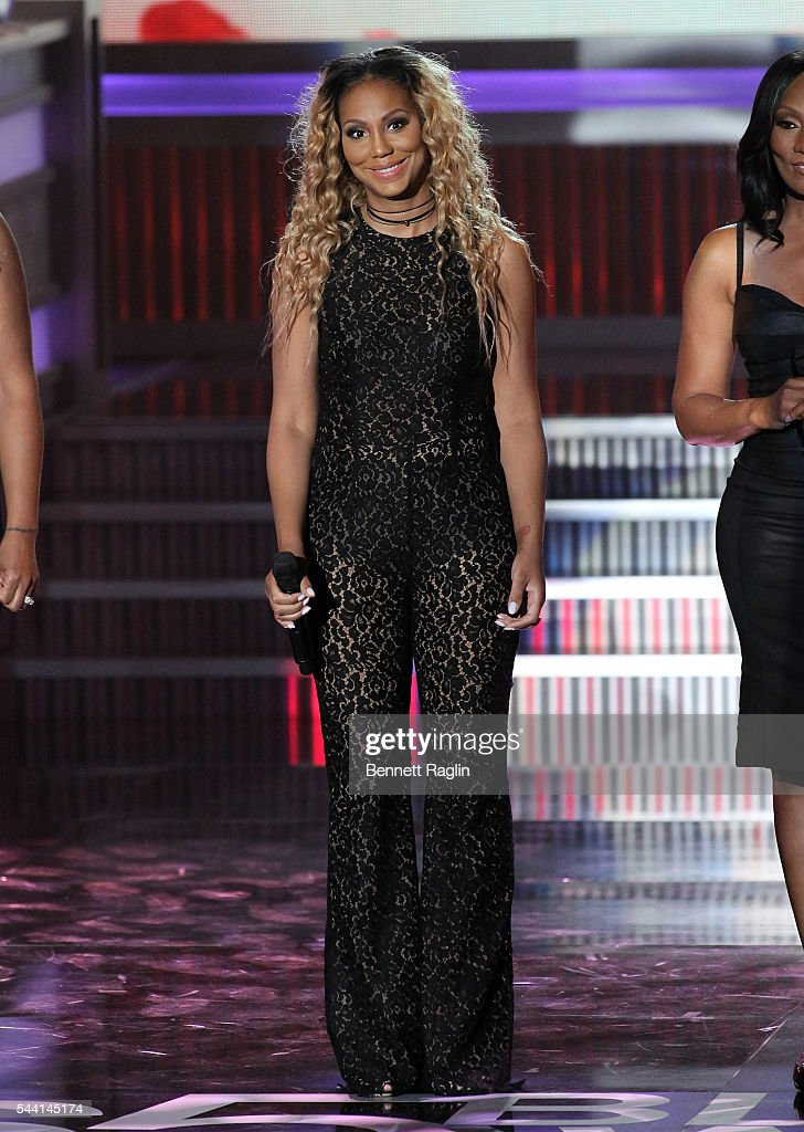 TV personality <a gi-track='captionPersonalityLinkClicked' href=/galleries/search?phrase=Tamar+Braxton&family=editorial&specificpeople=2079619 ng-click='$event.stopPropagation()'>Tamar Braxton</a> attends the 13th Annual McDonald's 365Black Awards on July 1, 2016 in New Orleans, Louisiana.