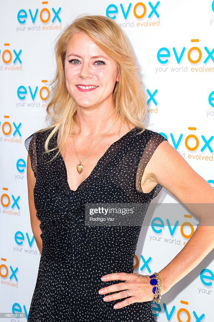 TV personality Tamara Berg attends green carpet launch of Evox TV debuting Ed Begley's new family show 'On Begley Street' on September 15, 2013 in Pasadena, California.