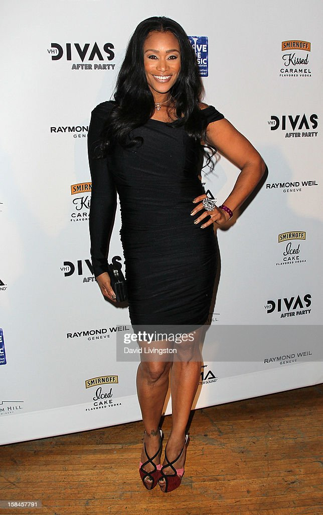TV personality Tami Roman attends the VH1 Divas After Party to benefit the VH1 Save The Music Foundation at the Shrine Expo Hall on December 16, 2012 in Los Angeles, California.