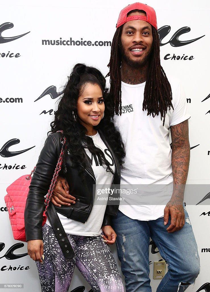 Waka Flocka & Tammy Visit Music Choice