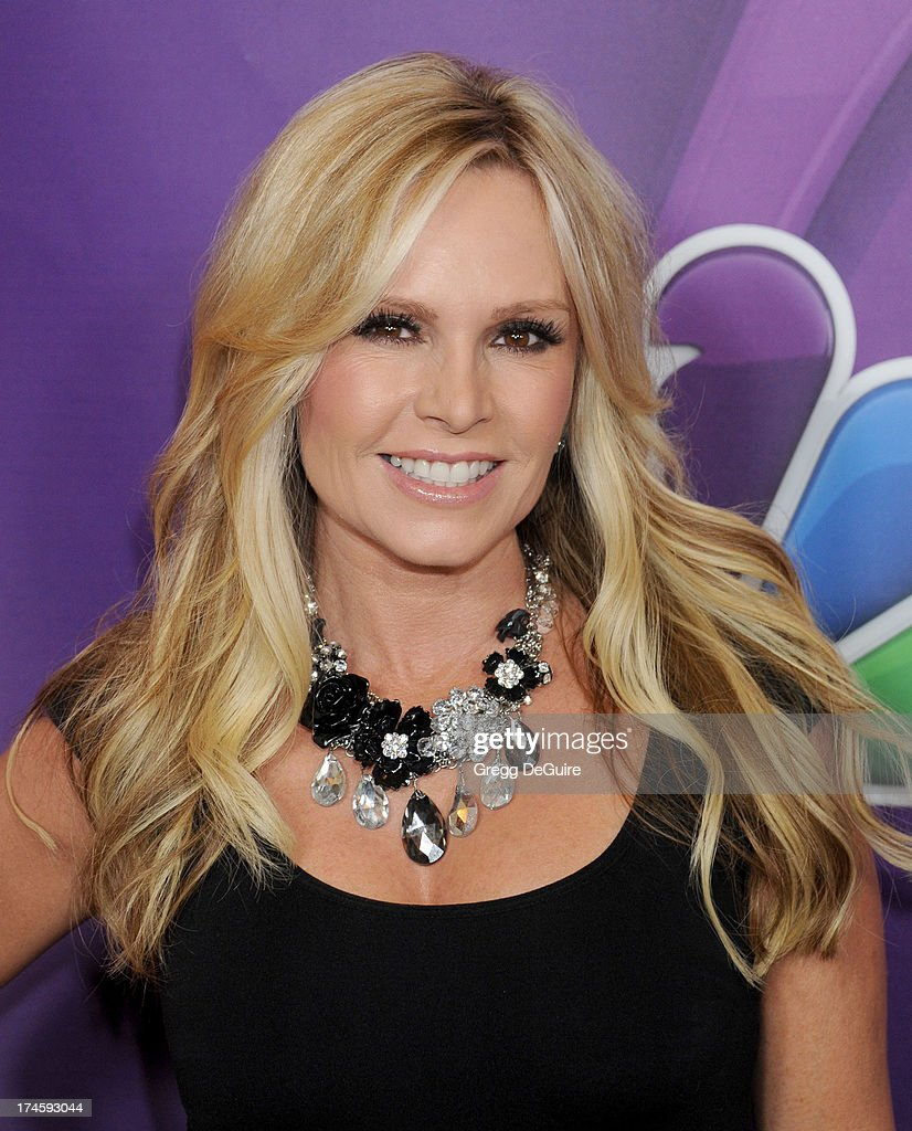 TV personality Tamra Barney arrives at the 2013 NBC Television Critics Association's Summer Press Tour at The Beverly Hilton Hotel on July 27, 2013 in Beverly Hills, California.