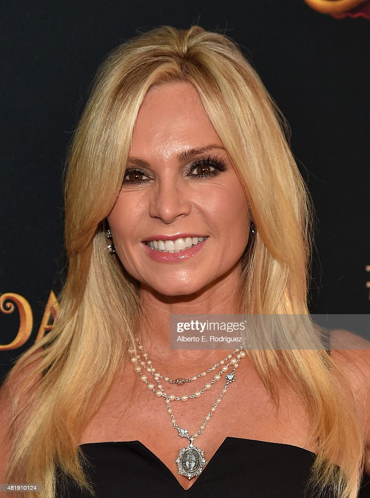 TV personality Tamra Barney attends the premiere of Disney Channel's 'Descendants' at Walt Disney Studios on July 24, 2015 in Burbank, California.