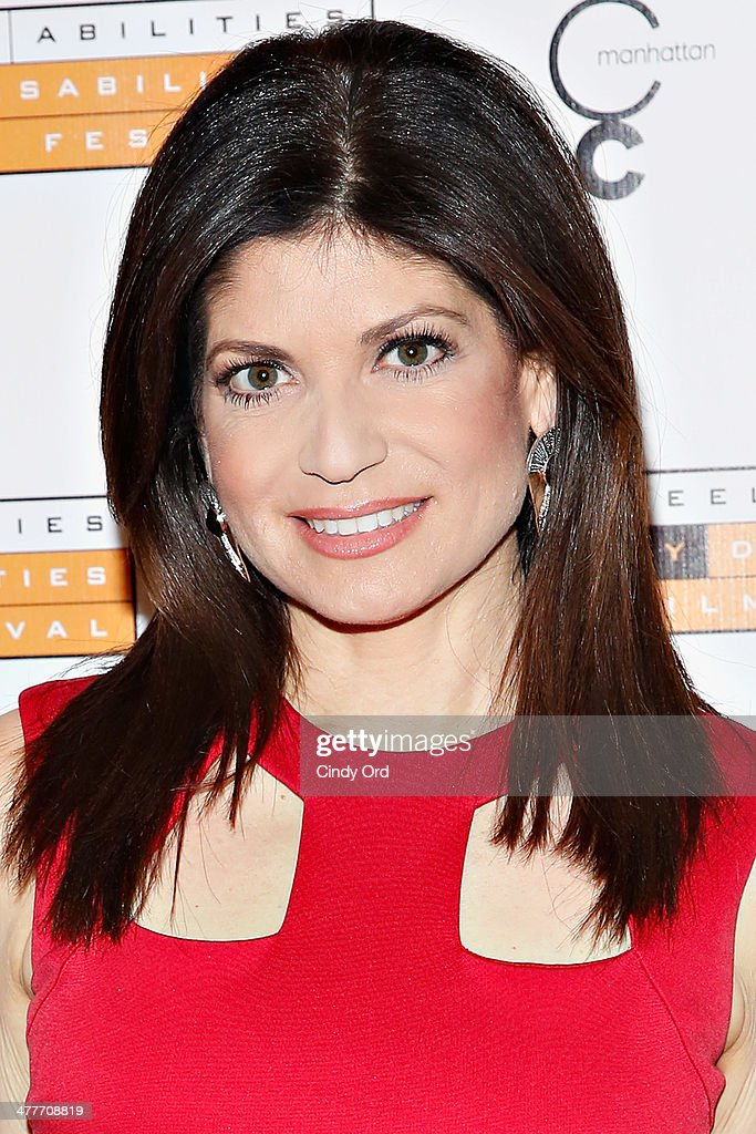 TV Personality Tamsen Fadal attends the 'A Whole Lott More' screening at JCC in Manhattan on March 10, 2014 in New York City.