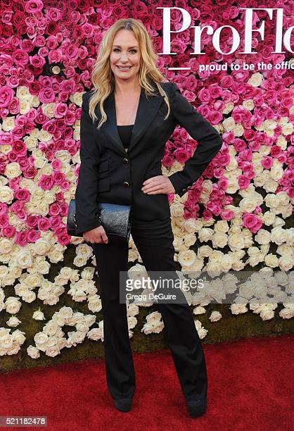 TV personality Taylor Armstrong arrives at the Open Roads World Premiere Of 'Mother's Day' at TCL Chinese Theatre IMAX on April 13 2016 in Hollywood...