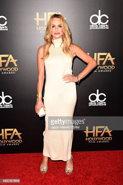 TV personality Taylor Armstrong attends the 19th Annual Hollywood Film Awards at The Beverly Hilton Hotel on November 1 2015 in Beverly Hills...