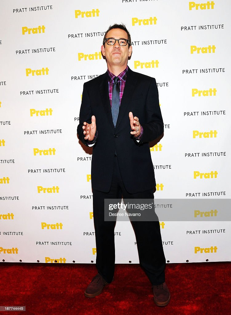 TV personality <a gi-track='captionPersonalityLinkClicked' href=/galleries/search?phrase=Ted+Allen&family=editorial&specificpeople=204146 ng-click='$event.stopPropagation()'>Ted Allen</a> attends the 2013 Pratt Institute gala at Mandarin Oriental Hotel on November 11, 2013 in New York City.