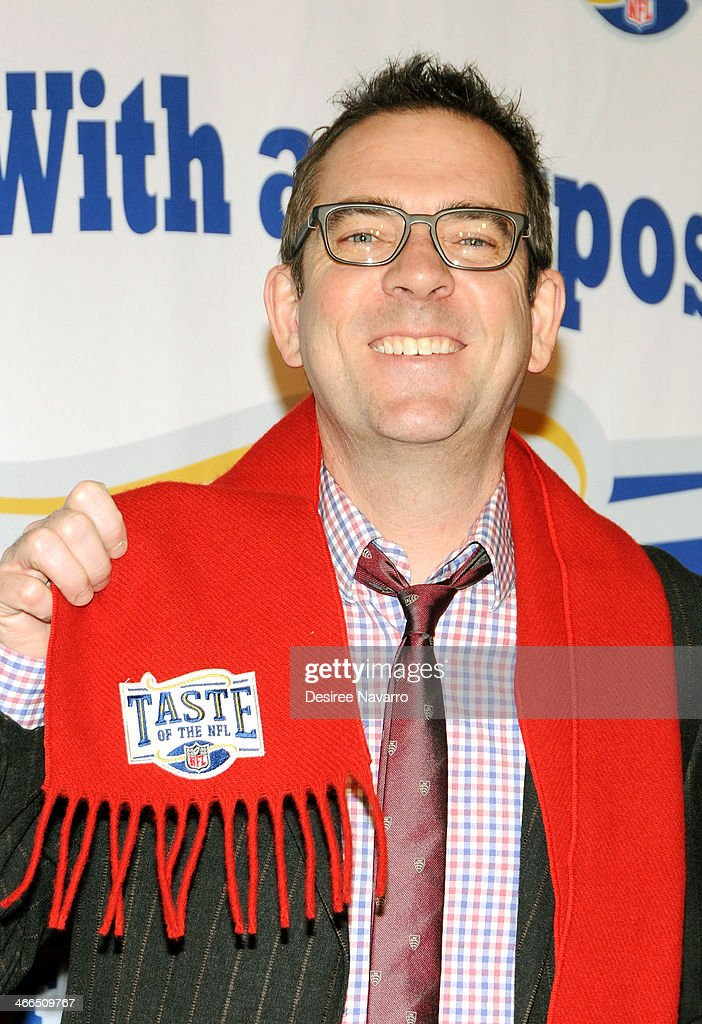 TV personality Ted Allen attends the 23rd Annual Super Bowl Party With A Purpose at Brooklyn Cruise Terminal on February 1, 2014 in New York City.