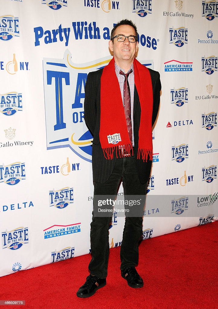 TV personality <a gi-track='captionPersonalityLinkClicked' href=/galleries/search?phrase=Ted+Allen&family=editorial&specificpeople=204146 ng-click='$event.stopPropagation()'>Ted Allen</a> attends the 23rd Annual Super Bowl Party With A Purpose at Brooklyn Cruise Terminal on February 1, 2014 in New York City.