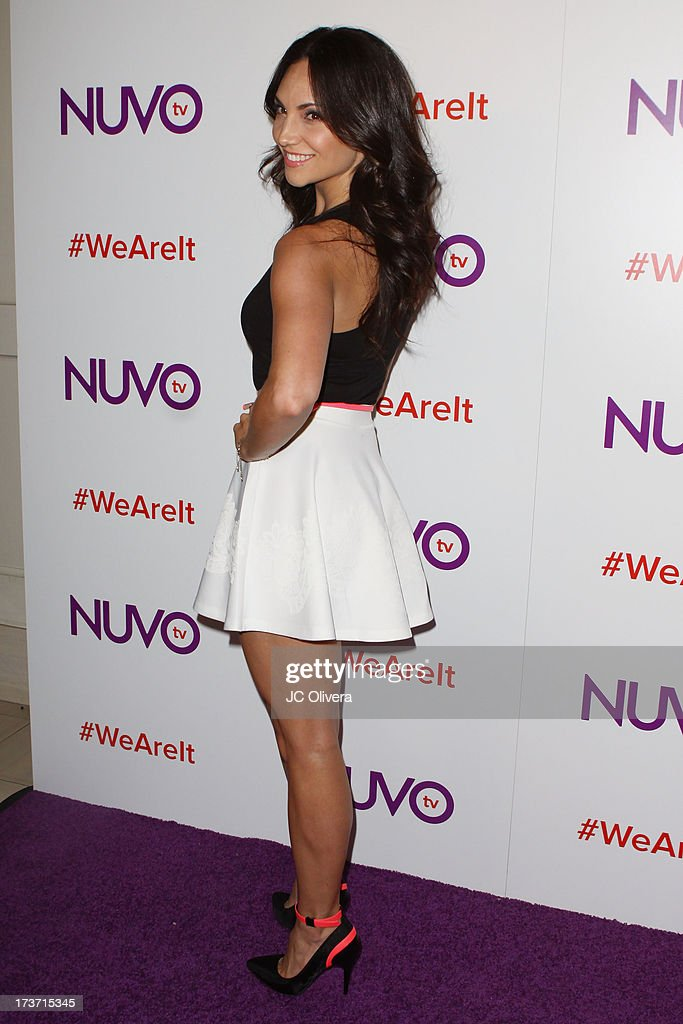 TV personality Tera Perez attends NUVOtv Network Launch Party at The London West Hollywood on July 16, 2013 in West Hollywood, California.