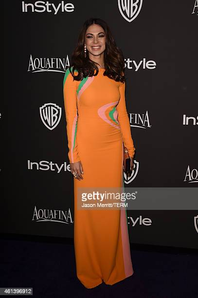 TV personality Terri Seymour attends the 2015 InStyle And Warner Bros 72nd Annual Golden Globe Awards PostParty at The Beverly Hilton Hotel on...
