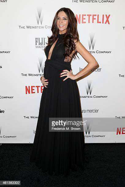 Personality Terri Seymour attends the 2015 Weinstein Company and Netflix Golden Globes After Party at Robinsons May Lot on January 11 2015 in Beverly...