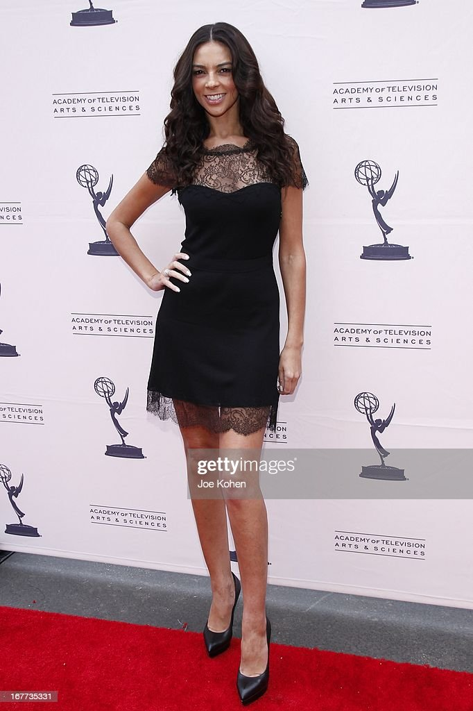 TV personality Terri Seymour attends The Academy Of Television Arts & Sciences Presents An Evening With Michael Buble at Wadsworth Theater on April 28, 2013 in Los Angeles, California.