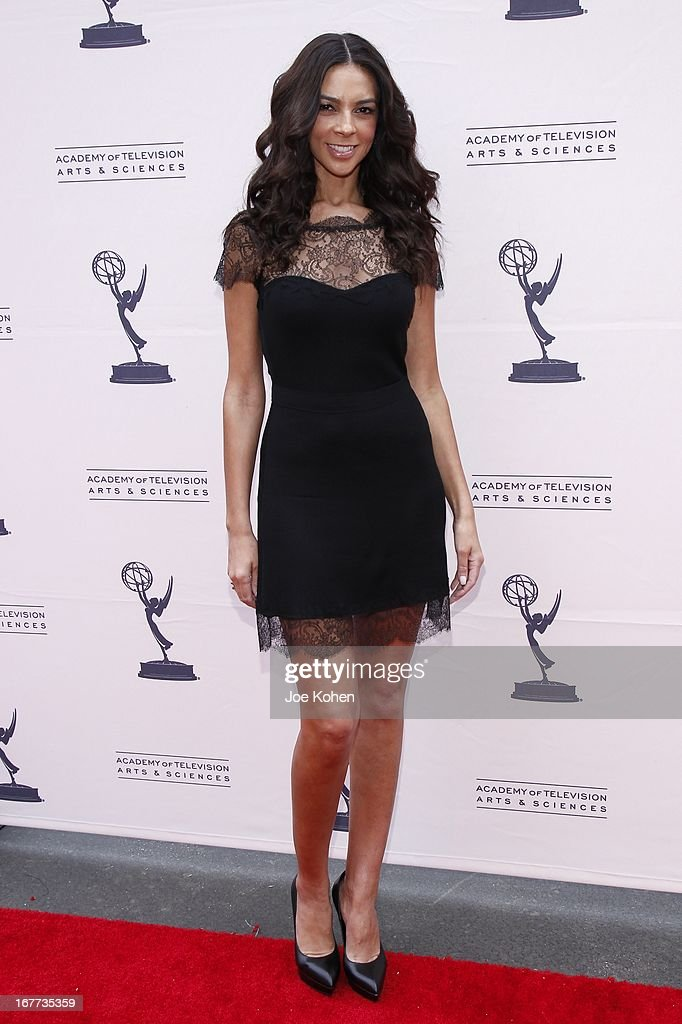 TV personality <a gi-track='captionPersonalityLinkClicked' href=/galleries/search?phrase=Terri+Seymour&family=editorial&specificpeople=226697 ng-click='$event.stopPropagation()'>Terri Seymour</a> attends The Academy Of Television Arts & Sciences Presents An Evening With Michael Buble at Wadsworth Theater on April 28, 2013 in Los Angeles, California.