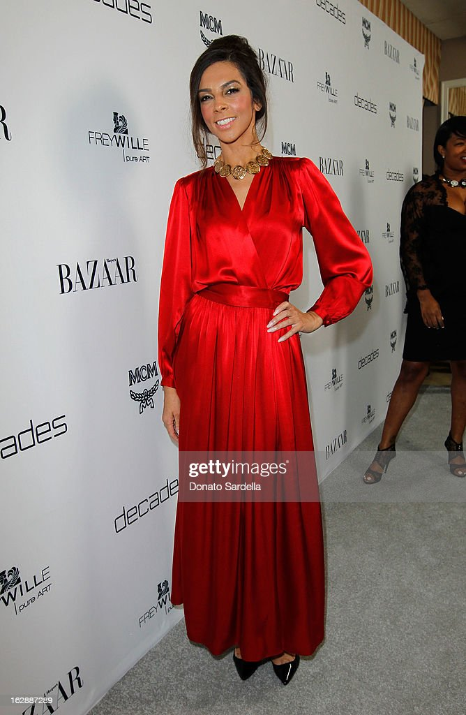 TV personality Terri Seymour attends the Dukes Of Melrose launch hosted by Decades, Harper's BAZAAR, and MCM on February 28, 2013 in Los Angeles, California.