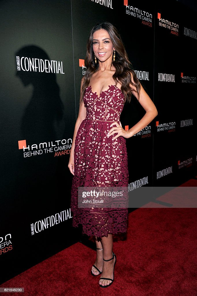 TV personality Terri Seymour attends the Hamilton Behind The Camera Awards presented by Los Angeles Confidential Magazine at Exchange LA on November 6, 2016 in Los Angeles, California.