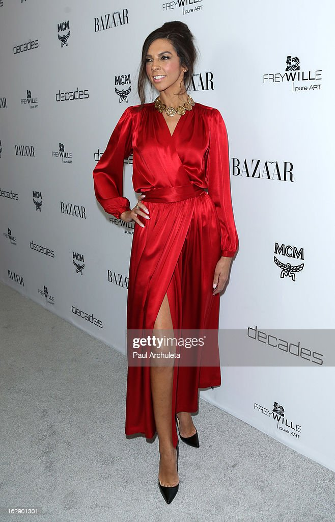 TV Personality Terri Seymour attends the Harper's BAZAAR celebration for the new Bravo series 'Dukes of Melrose' at The Terrace at Sunset Tower on February 28, 2013 in West Hollywood, California.
