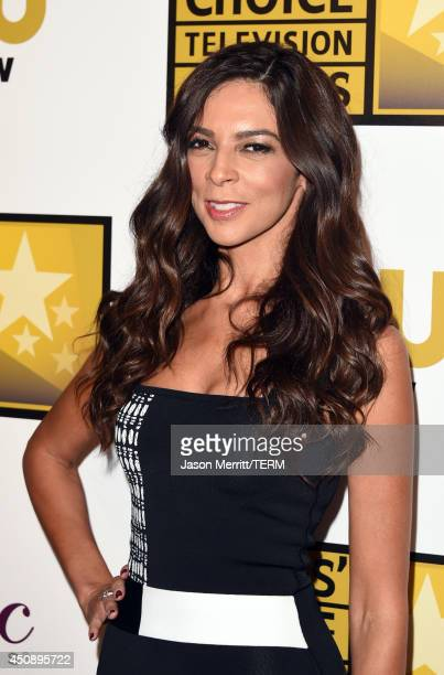 TV personality Terri Seymour poses in the press room during the 4th Annual Critics' Choice Television Awards at The Beverly Hilton Hotel on June 19...