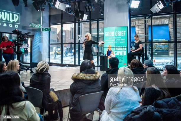 V personality Theresa Caputo discusses 'The Long Island Medium' with the Build Series at Build Studio on March 16 2017 in New York City