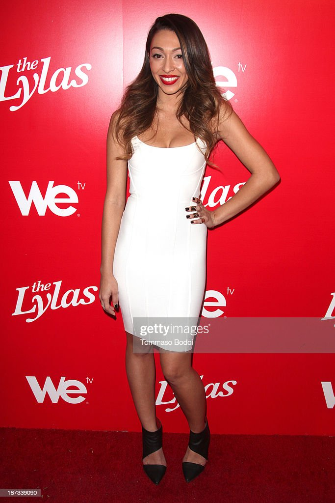TV personality Tiara Hernandez attends the WE tv's premiere party for 'The LYLAS' held at the Warwick on November 7, 2013 in Hollywood, California.