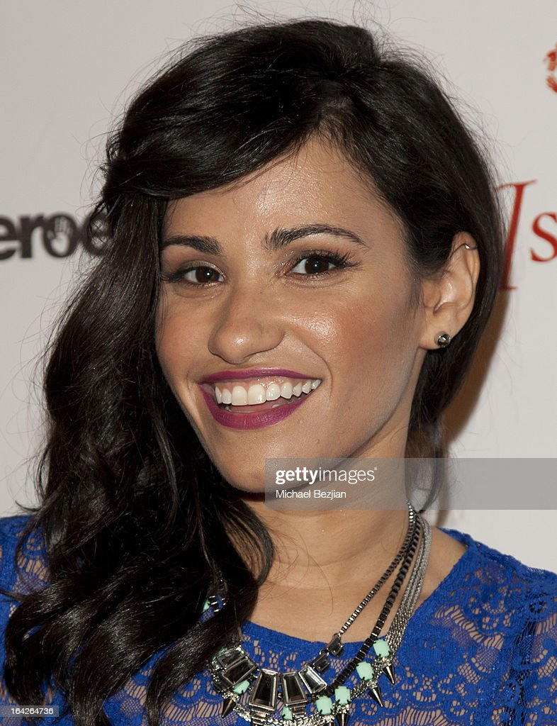 TV personality Tiffany Smith attends 'Love Is Heroic' - The Unlikely Heroes Annual Spring Benefit at W Hollywood on March 21, 2013 in Hollywood, California.