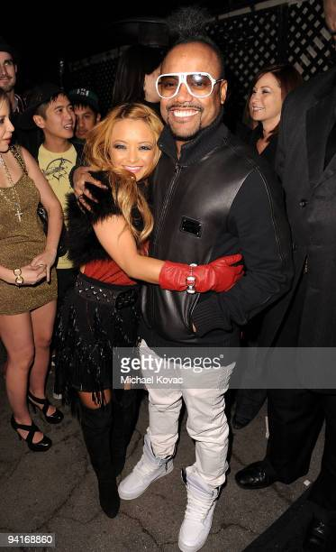 TV personality Tila Tequila and musician apldeap arrive at the Famous Stars and Straps 10th Anniversary and Snoop Dogg 10th Album Release at Vanguard...