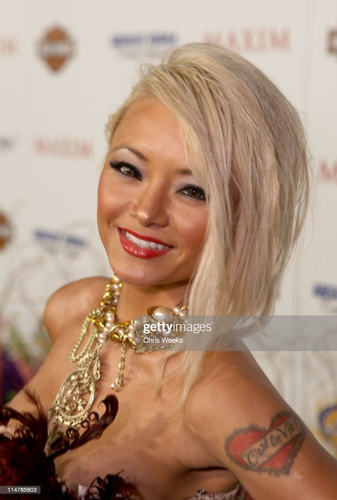 TV Personality Tila Tequila arrives at the 11th annual Maxim Hot 100 Party with Harley-Davidson, ABSOLUT VODKA, Ed Hardy Fragrances, and ROGAINE held at Paramount Studios on May 19, 2010 in Los Angeles, California.