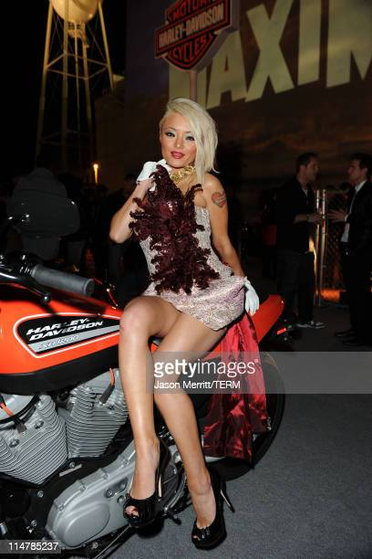 TV Personality Tila Tequila attends the 11th annual Maxim Hot 100 Party with HarleyDavidson ABSOLUT VODKA Ed Hardy Fragrances and ROGAINE held at...