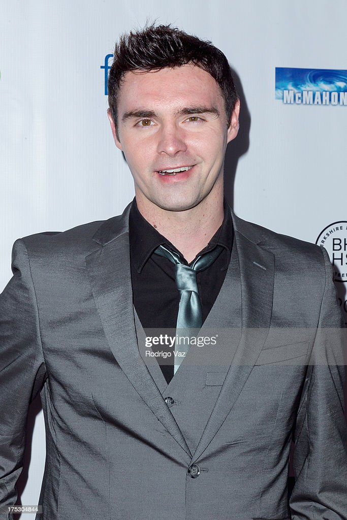 TV personality Tim Woodward Jr. arrives at Playboy Radio's Hollywood Casino Night benefiting The Leukemia & Lymphoma Society's Hodgkins Haters at W Hollywood on August 1, 2013 in Hollywood, California.