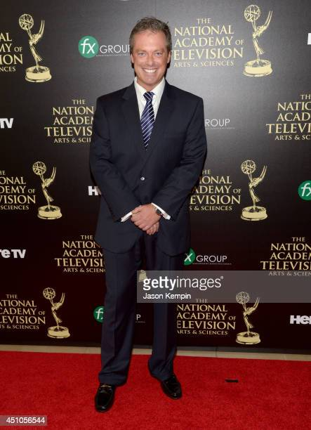 TV personality Todd Newton attends The 41st Annual Daytime Emmy Awards at The Beverly Hilton Hotel on June 22 2014 in Beverly Hills California