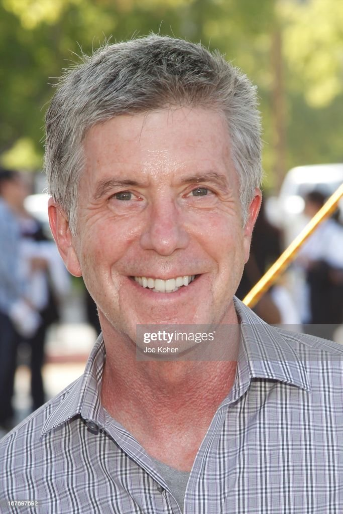 TV personality <a gi-track='captionPersonalityLinkClicked' href=/galleries/search?phrase=Tom+Bergeron&family=editorial&specificpeople=663624 ng-click='$event.stopPropagation()'>Tom Bergeron</a> attends the 23rd Annual William Shatner Priceline.com Hollywood Charity Horse Show at Los Angeles Equestrian Center on April 27, 2013 in Los Angeles, California.