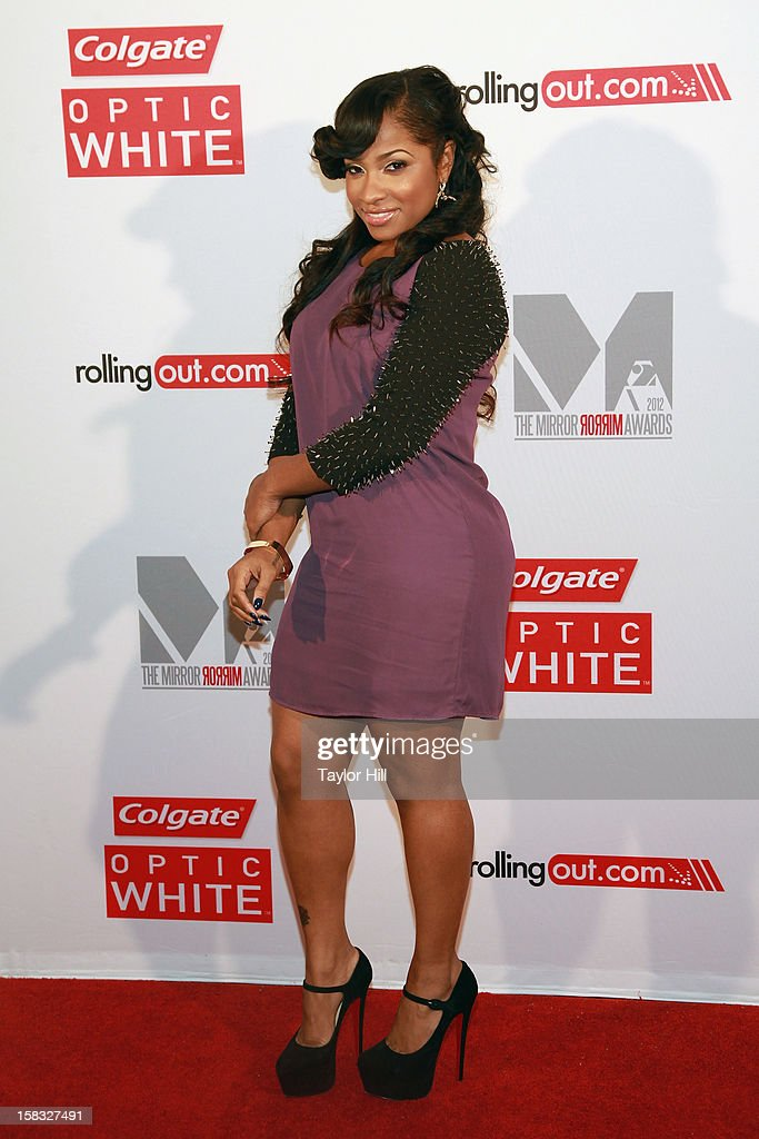 TV personality Toya Wright attends the 2012 Mirror Mirror Awards at The Union Square Ballroom on December 12, 2012 in New York City.