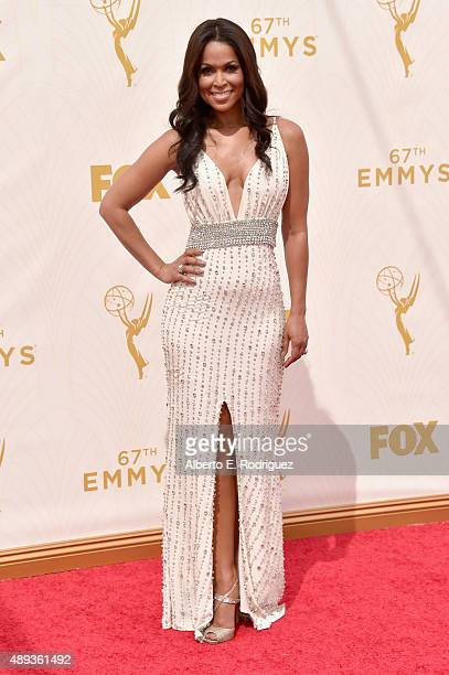 TV personality Tracey Edmonds attends the 67th Emmy Awards at Microsoft Theater on September 20 2015 in Los Angeles California 25720_001