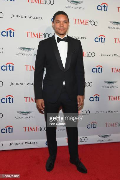 Personality Trevor Noah attends the 2017 Time 100 Gala at Jazz at Lincoln Center on April 25 2017 in New York City