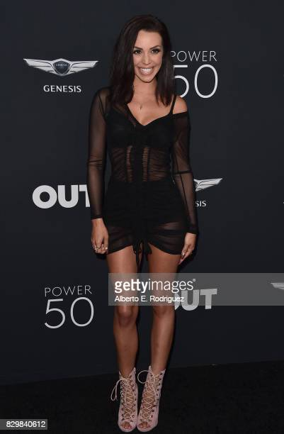 Personality TV personalities Billie Lee and Scheana Marie attends OUT Magazine's Inaugural Power 50 Gala Awards Presentation at Goya Studios on...