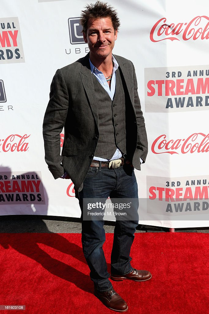 TV personality <a gi-track='captionPersonalityLinkClicked' href=/galleries/search?phrase=Ty+Pennington&family=editorial&specificpeople=241576 ng-click='$event.stopPropagation()'>Ty Pennington</a> attends the 3rd Annual Streamy Awards at Hollywood Palladium on February 17, 2013 in Hollywood, California.