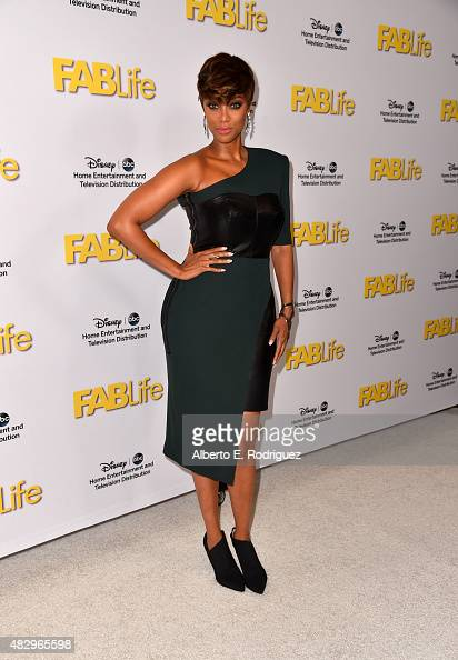 TV personality Tyra Banks attends Disney ABC Television Group's 2015 TCA Summer Press Tour at the Beverly Hilton Hotel on August 4 2015 in Beverly...