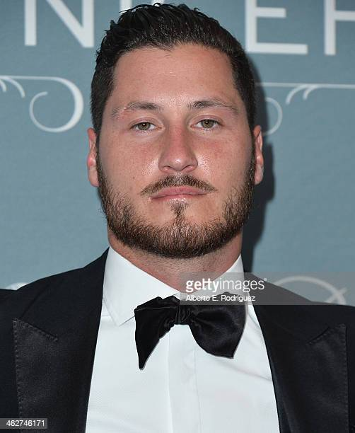 TV personality Val Chmerkovskiy arrives to the 2014 UNICEF Ball Presented by Baccarat at the Regent Beverly Wilshire Hotel on January 14 2014 in...